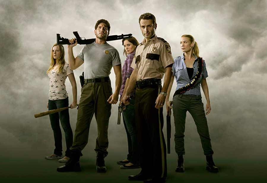The Walking Dead Series Film Horor Zombie Terbaik