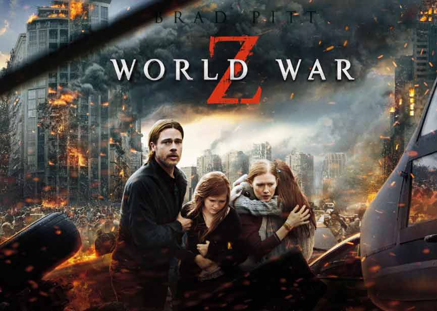 World War Z ( 2013 ) Film Horor Zombie Terbaik