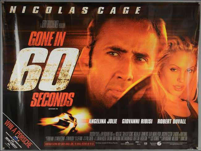 Gone in 60 Seconds ( 2000 ) film balap mobil terbaik
